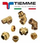 Фитинги резьбовые TIEMME (Made in Italy)