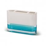 TATKRAFT TOPAZ BLUE 12745 Стакан для зубных щеток акрил трехслойное