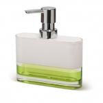 TATKRAFT TOPAZ GREEN 12707 Дозатор для жидкого мыла акрил трехслойное