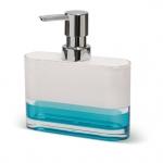 TATKRAFT TOPAZ BLUE 12752 Дозатор для жидкого мыла акрил трехслойное