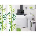 Штора для ванной комнаты TATKRAFT  BAMBOO GREEN 14077