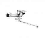 Смеситель Edeny E2904B для ванны (силумин) прямой нос