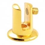 Полкодержатель 79221 РВ золото (1шт)