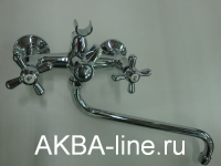 Смеситель D-Lin D146819 для ванны барашки (силумин)