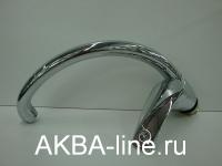 Смеситель D-Lin D150401-6 для кухни боковой нос на гайке
