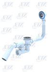 Перелив ANI E 251 для ванны с выпуском 40*50