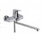 Смеситель D-Lin D147353 для ванны с прямым носом 30см
