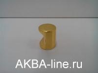 Ручка мебельная кнопка 2815 РВ золото