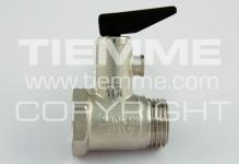 """Клапан TIEMME 1/2"""" предохранительный 1930001 8,5bar рычаг"""