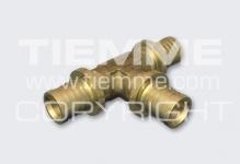 Тройник TIEMME 1710067 16х2,0-16-16