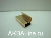 Ручка для стекла золото узкая без клея