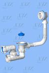 Перелив ANI С 6250 Варяг для ванны с выпуском и гидрозатвором