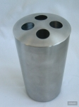 Купить Brussel 280241 Стакан для зубных щеток нержавеющая сталь в Перми цена