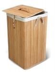 Купить TATKRAFT PALLAS 11267 Корзина для белья бамбук 60л в Перми цена