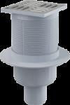 Трап для душа ALCAPLAST APV-2 прямая, пластмасса, нержавеющая решетка